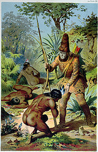 Robinson Crusoe is a religious or spiritual allegory