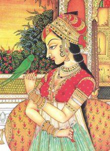 Mughal Women's Clothing Mughal Women's Dress Mughal Women's Costume